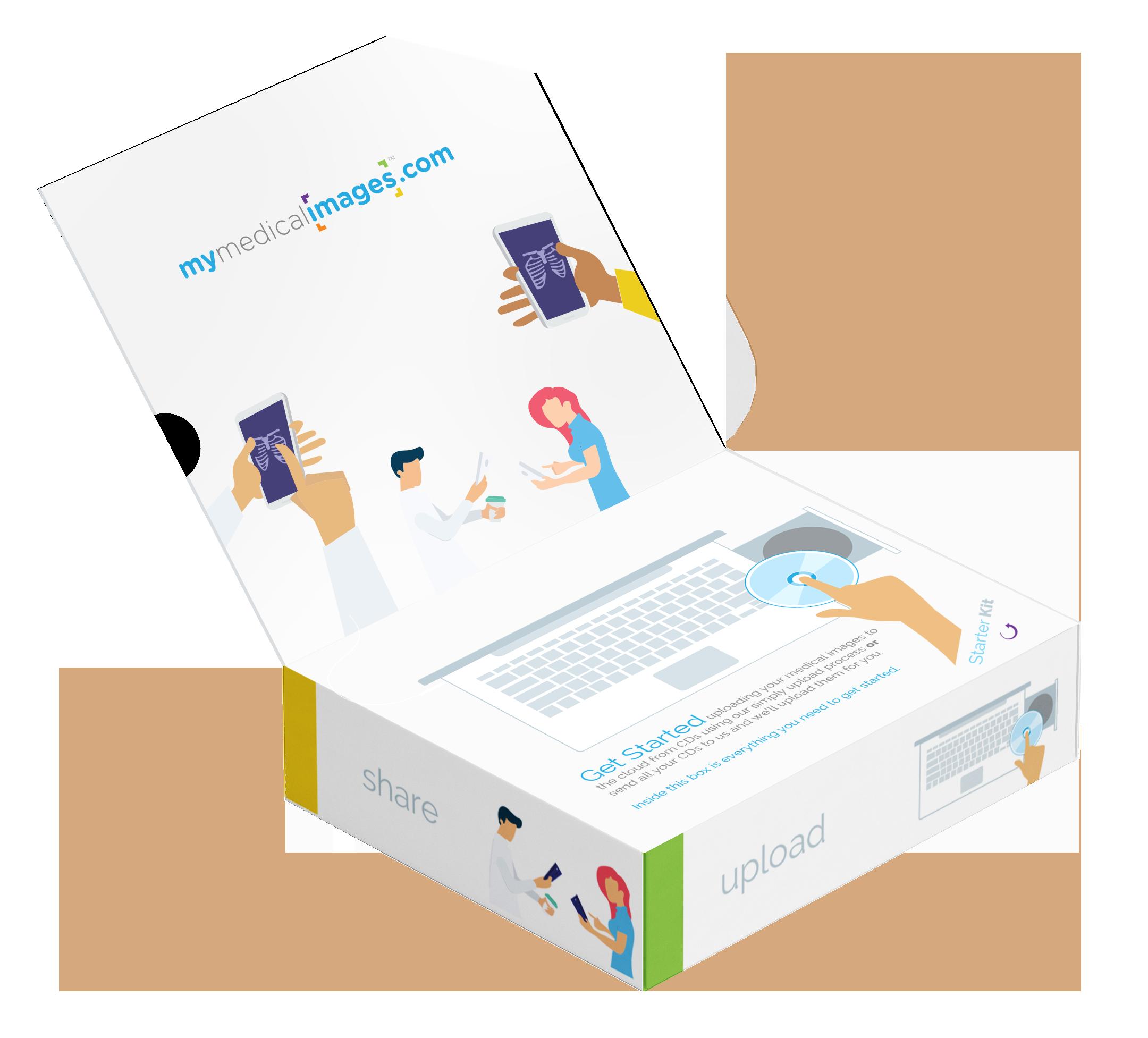 An image of Starter kit box